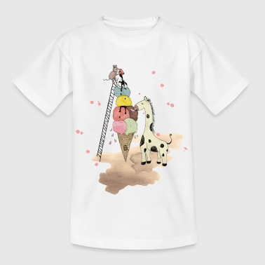 Conservation Wildlife Icecream - Kids' T-Shirt
