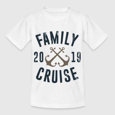 Family Cruise 2019 - Family Vacation Water Sea - Maglietta per bambini