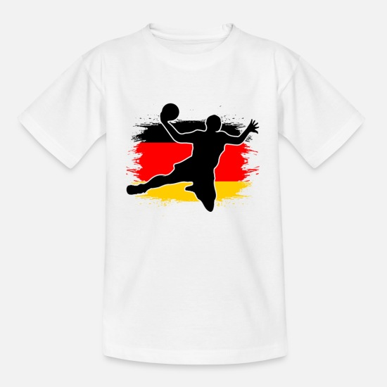 Gift Idea T-Shirts - Handball Handballer Handball Player Gift - Kids' T-Shirt white