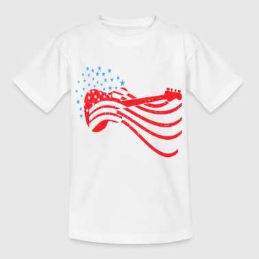 Rock n Roll USA Gift idea for families - Kids' T-Shirt