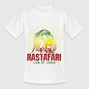 Rastafari Lion Of Judah - Rasta Reggae Jamaica - Kinderen T-shirt