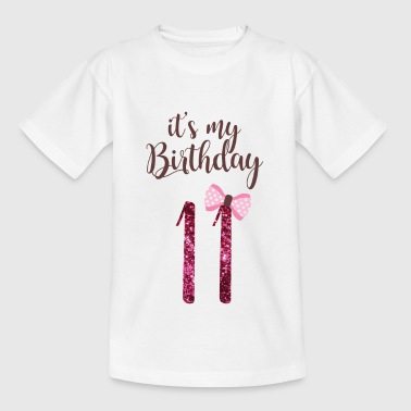 11th birthday girl princess gift - Kids' T-Shirt