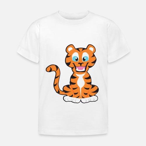 Design A Shirt | Lustiger Tiger Kinder Und Baby Design Von Shirt Mit Hirn Spreadshirt