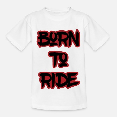 Sunglasses Born To Ride - Kids' T-Shirt