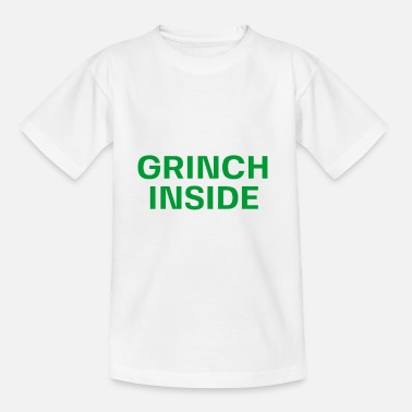 Grinchen Grinch Santa Claus Christmas fir-tree - T-shirt barn