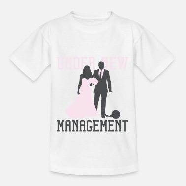 Junggesellenabschied Design Neues Management - Kinder T-Shirt