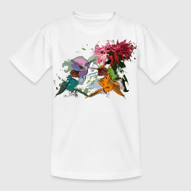 Hummingbirds - Kinderen T-shirt