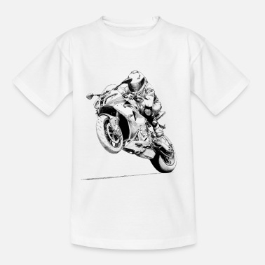 Motorcycle bike - Kids' T-Shirt