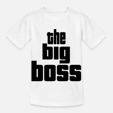 Apéro the big boss design - T-shirt Enfant