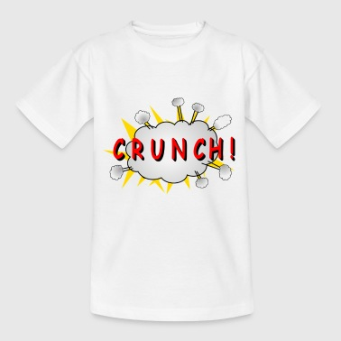 Crunch Tegneserie CRUNCH! - T-skjorte for barn