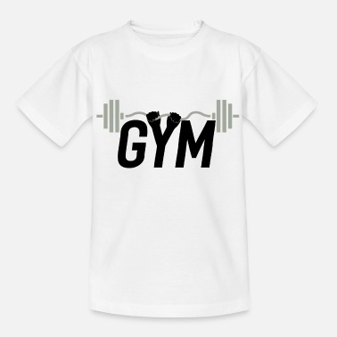 Musical Fitness Shirt Workout Fitness Class Gift - Kids' T-Shirt