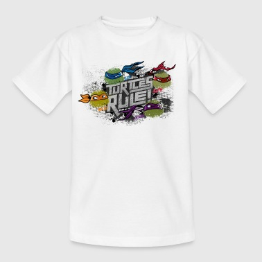Kids Shirt TURTLES 'Turtles rule!' - Kinder T-Shirt