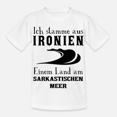 Ironie Ironie - Kinder T-Shirt