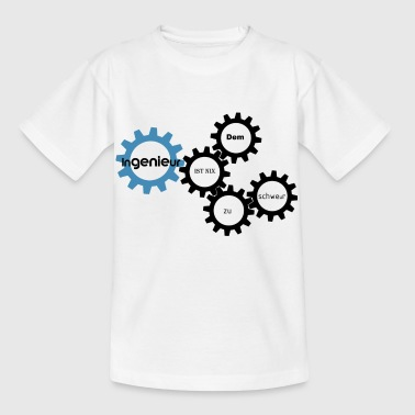Ingenieur bau - Kinder T-Shirt