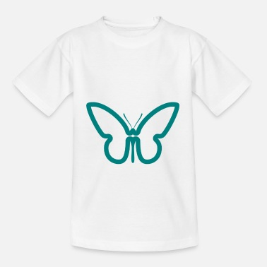 Bicycle butterfly - Kids' T-Shirt