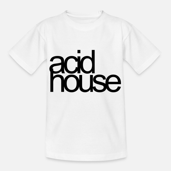 Techno T-shirts - acid house - T-shirt Enfant blanc
