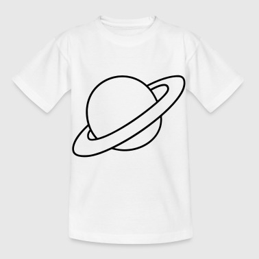 Planet with rings - Kids' T-Shirt