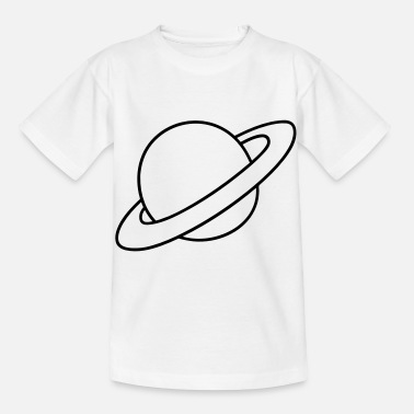 Planet Ring Planet with rings - Kids' T-Shirt