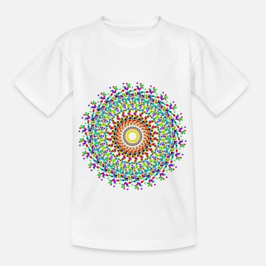 Colour Splash MandalaOU - Kids' T-Shirt