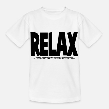 Relax relax the amazing troy is here - Kids' T-Shirt