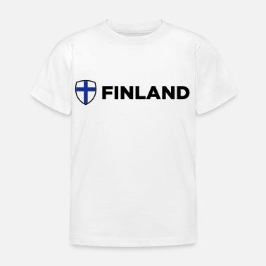 Kansallinen lippu Suomi - Lasten t-paita 98f3de6159