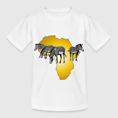 The Spirit of Africa - Zebras African Serengeti - Kids' T-Shirt
