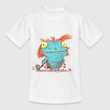 Das Monster Mamma t-shirt - Kinder T-Shirt