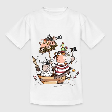 Mouton Funny farm pirates - pirate - boucaniers - T-shirt Enfant