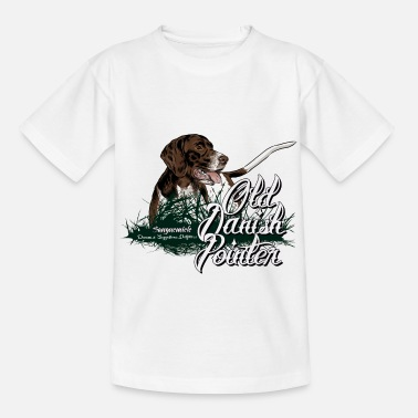 Bird old_danish_pointer - Kids' T-Shirt