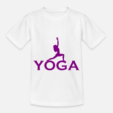 Shiva Yoga - Meditation - Mental Erholung - Relax - Kinder T-Shirt