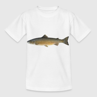 Atlantischer Lachs - Kinder T-Shirt
