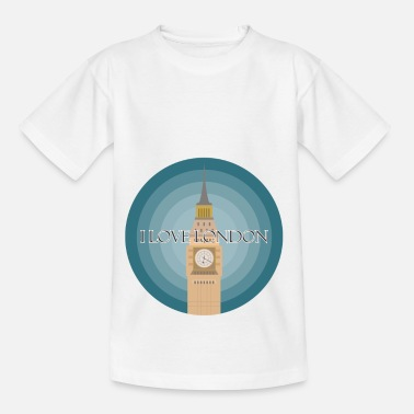 London I love London - Kids' T-Shirt