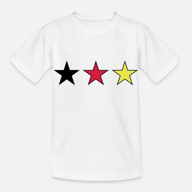 German Flag football german germany - Kids' T-Shirt