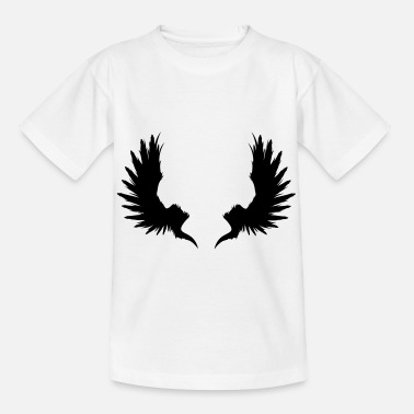 Garden Underwear Back Wings - Kids' T-Shirt