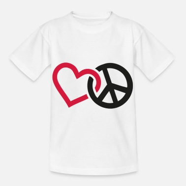 Pace and Love - Kids' T-Shirt
