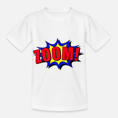 Baem Zoom cartoon speech bubble - Kids' T-Shirt