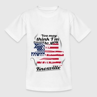 THERAPY HOLIDAY AMERICA USA TRAVEL Knoxville - Kids' T-Shirt