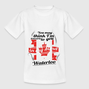 HOLIDAY HOME ROOTS TRAVEL Canada Canada Waterloo - Kids' T-Shirt