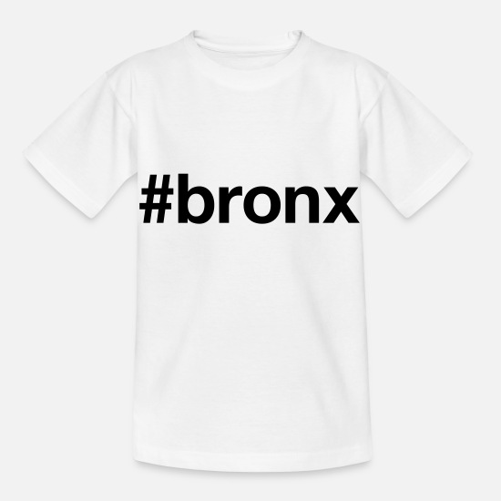 Usa T-Shirts - BRONX - Kids' T-Shirt white