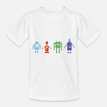 Android Roboter - Kinder T-Shirt