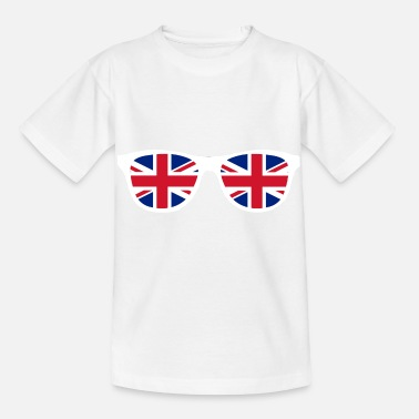 Emergency Exit Glasses - Brexit - EU - Europe - Great Britain - Kids' T-Shirt