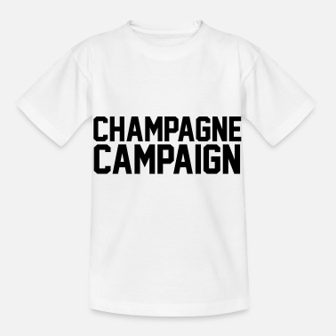 Campaign Champagne Campaign - Kids' T-Shirt