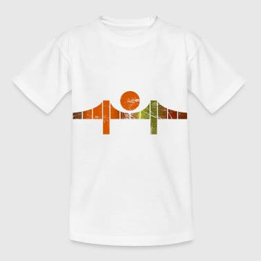 Golden Gate Bridge San Francisco USA Death - Kinder T-Shirt