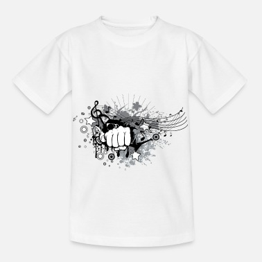 Punch Punch Rock - Kinder T-Shirt