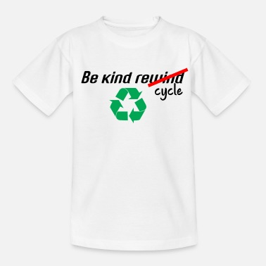 Recycling recycle - Kids' T-Shirt