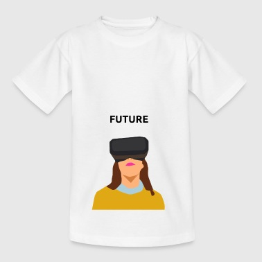 Future Virtual Reality Brille - Kinder T-Shirt