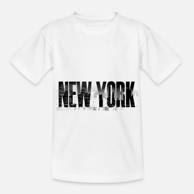 Big Apple New York grunge - Kids' T-Shirt
