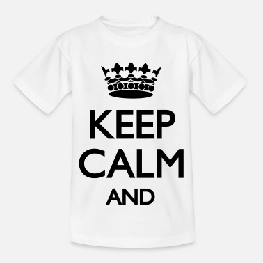 Keep Keep Calm - Kinderen T-shirt