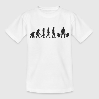 Evolution Weight Lifting - Kids' T-Shirt