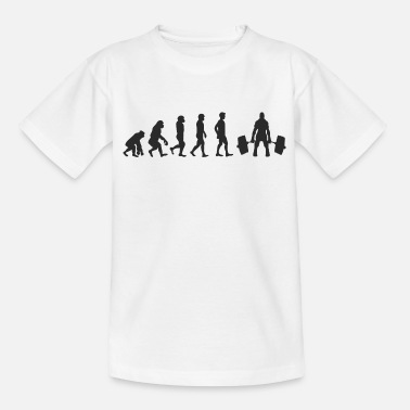 Weight Evolution Weight Lifting - Kids' T-Shirt